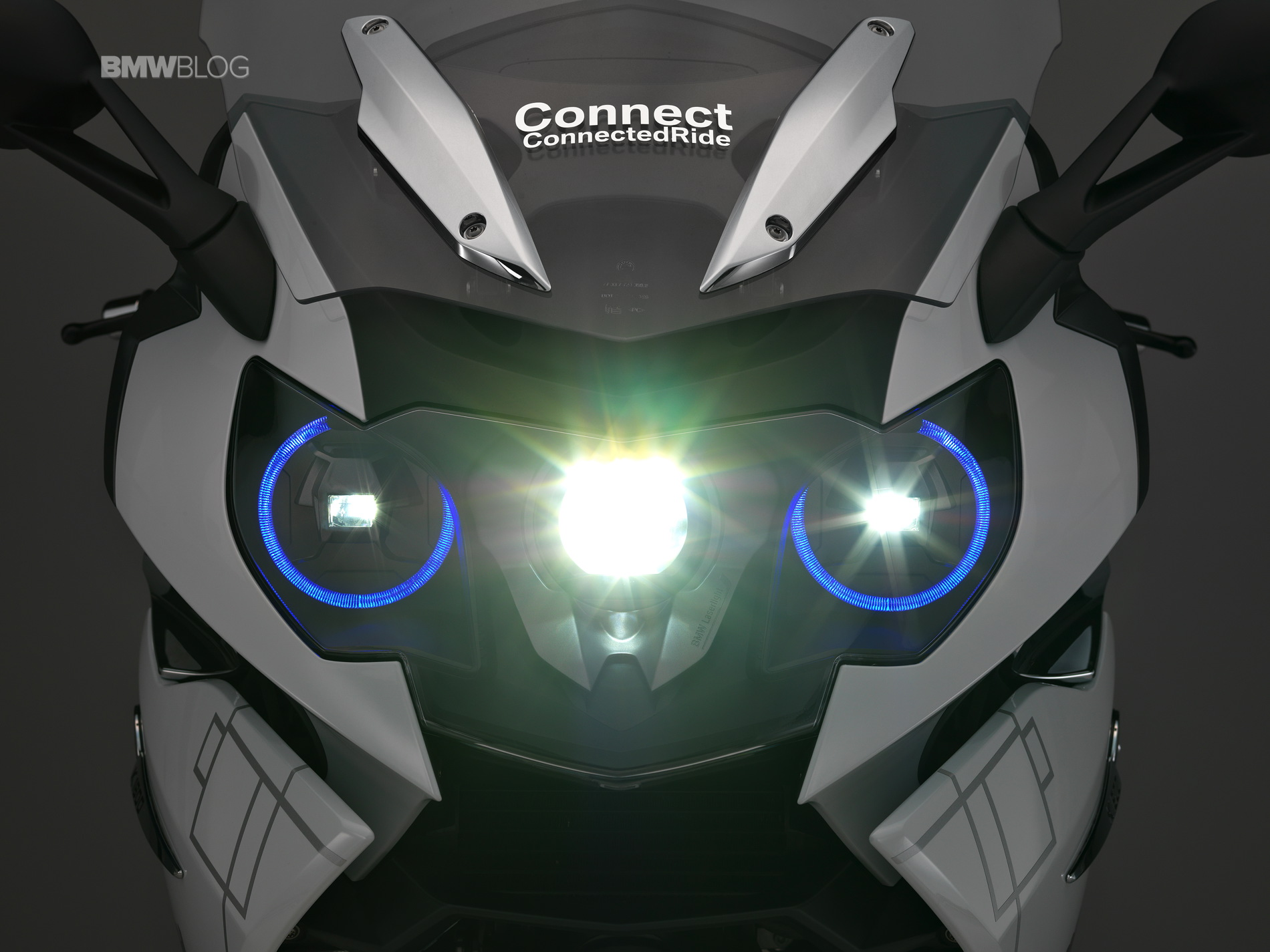 BMW K 1600 GTL concept with BMW Motorrad laser light 8