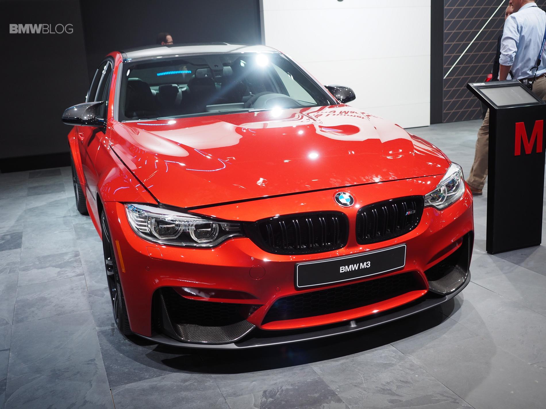 BMW M3 Sakhir Orange M Performance Parts 13