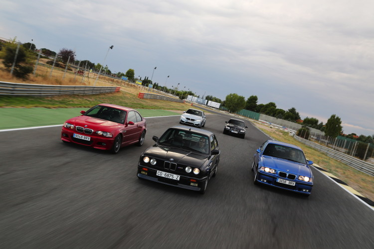 BMW M3 generations photoshoot 7 750x500
