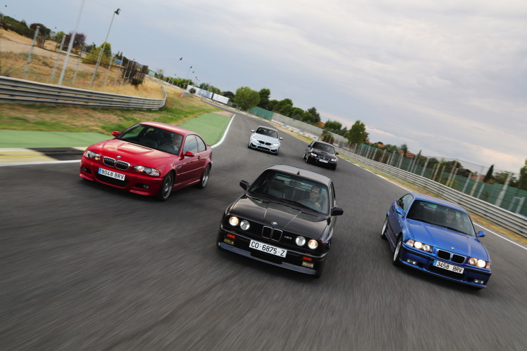 BMW M3 generations photoshoot 8 750x500