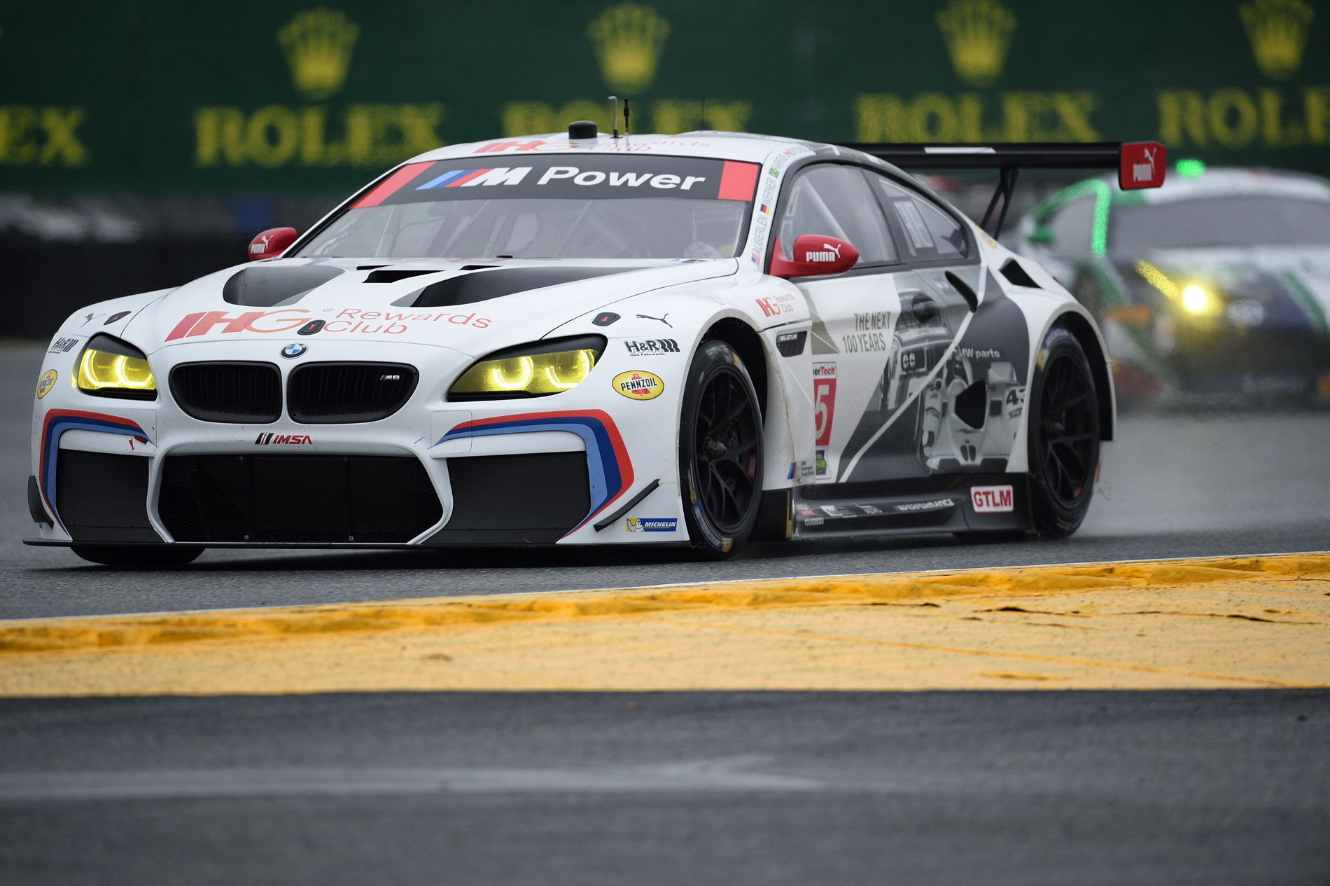 New M6 GTLM Racing Cars Qualify 3rd and 6th for 54th Rolex 24 At Daytona