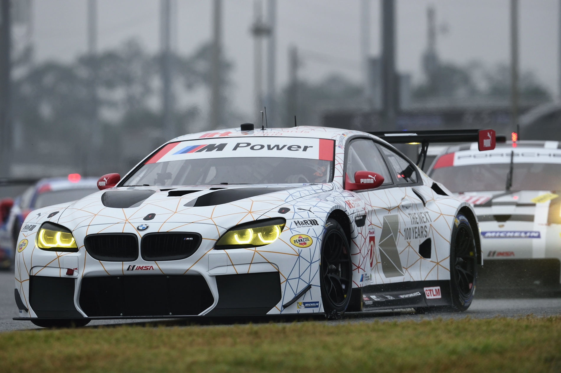 New M6 Gtlm Racing Cars Qualify 3rd And 6th For 54th Rolex