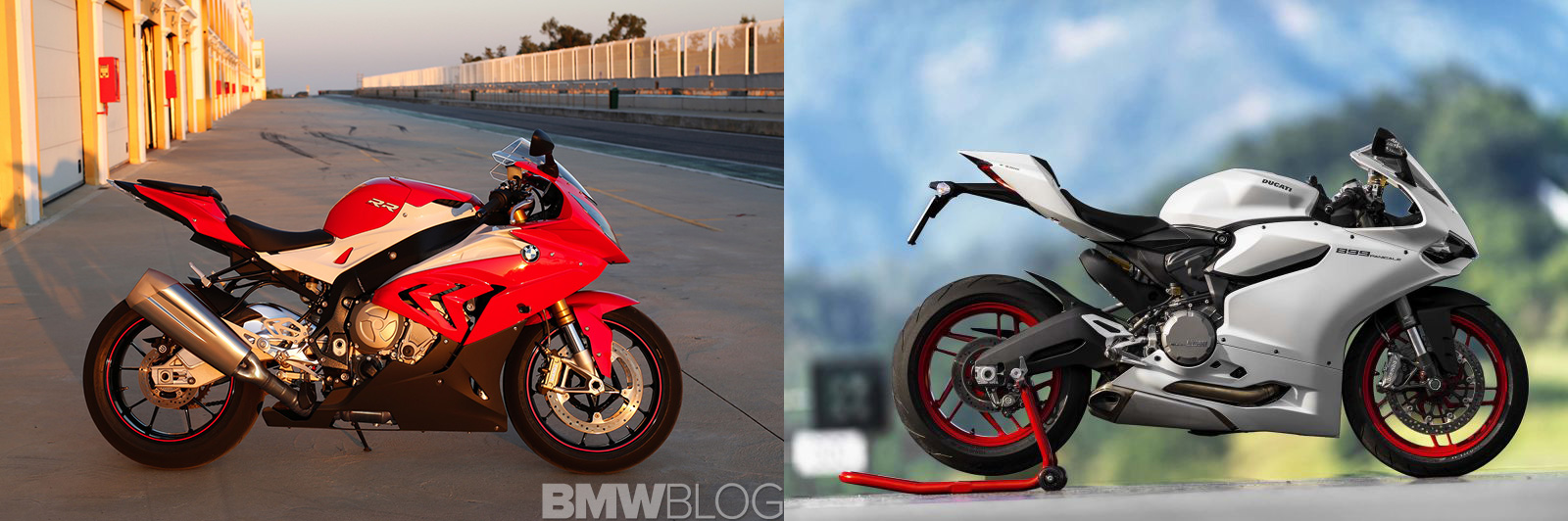 BMW S 1000 RR Ducati 959 Panigale