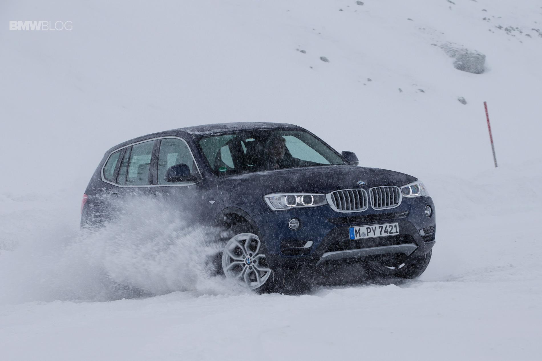BMW X models snow 12