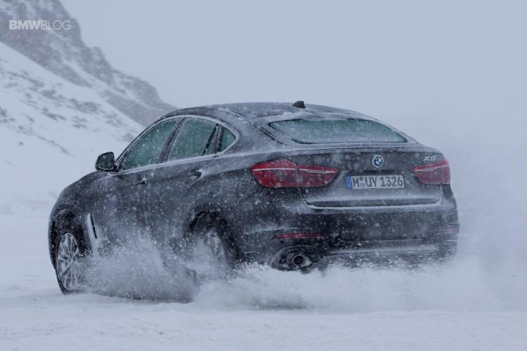 BMW X models snow 67 750x500