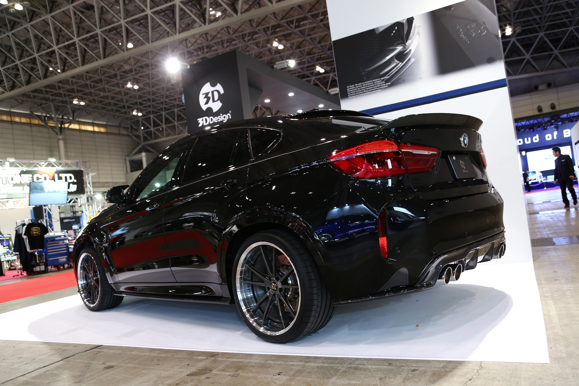 Bmw X6 M By 3d Design Is A Beauty