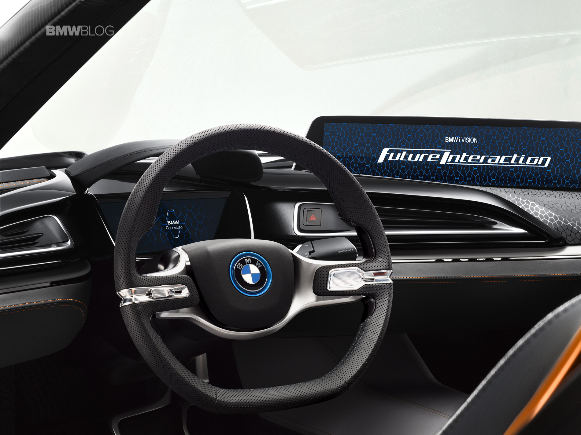 world premiere bmw i vision future interaction. Black Bedroom Furniture Sets. Home Design Ideas