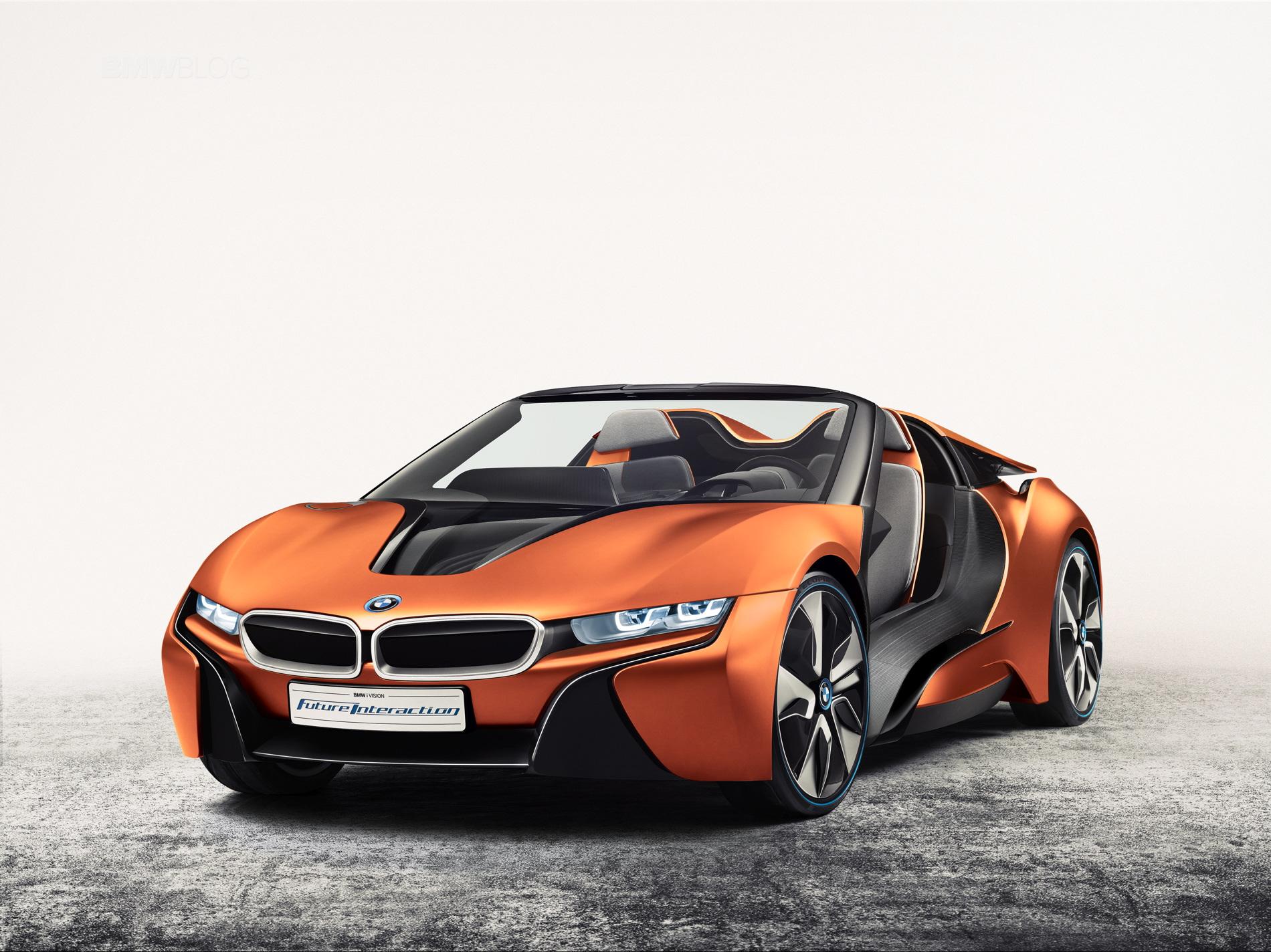 WORLD PREMIERE: BMW i Vision Future Interaction
