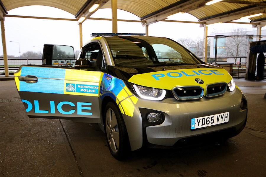 BMW i3 London Police