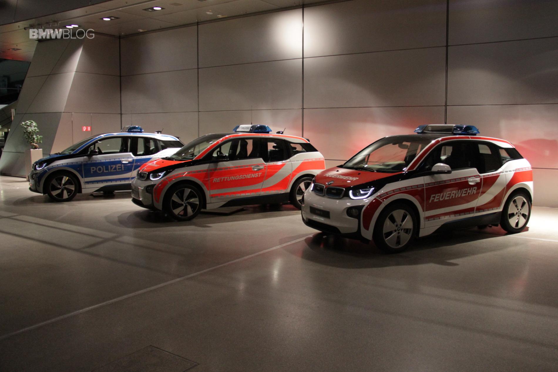 BMW i3 emergency cars BMW Welt 2