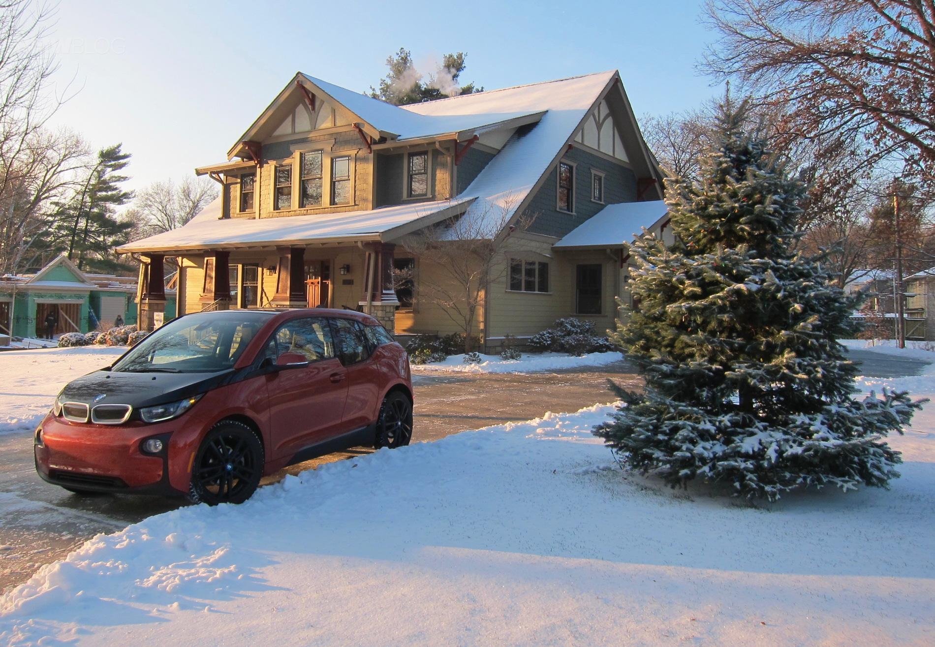BMW i3 winter test drive 9