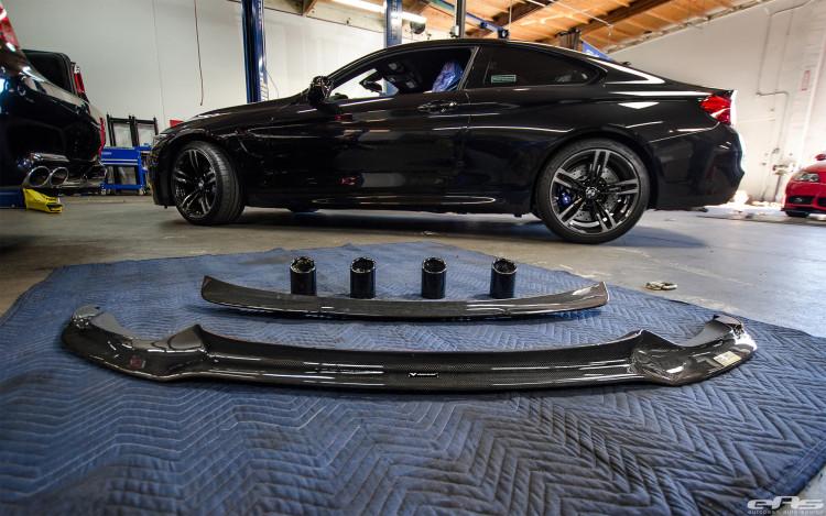 Black Sapphire Metallic F82 M4 Carbon Fiber Aerodynamics 2 750x469