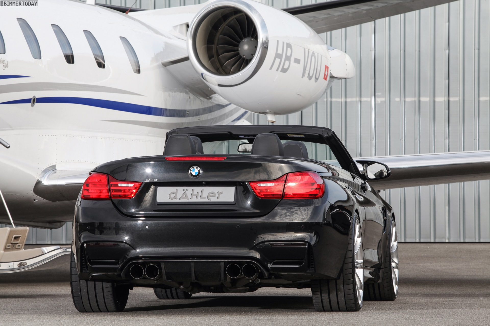 Dahler Bmw M4 Convertible With Power Tuning To 540 Hp