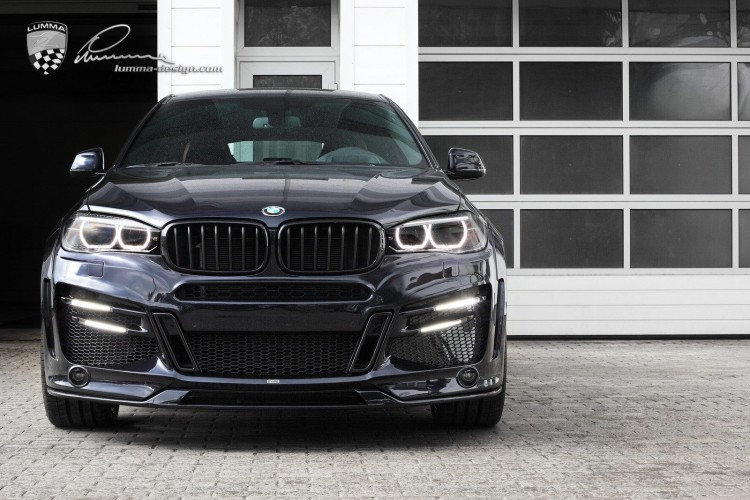 New Photos Of The Lumma Clr X6 R Based On The Bmw X6