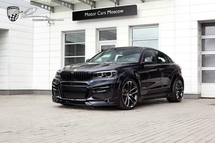 Lumma BMW X6 F16 Tuning CLR X 6 R 08 750x500