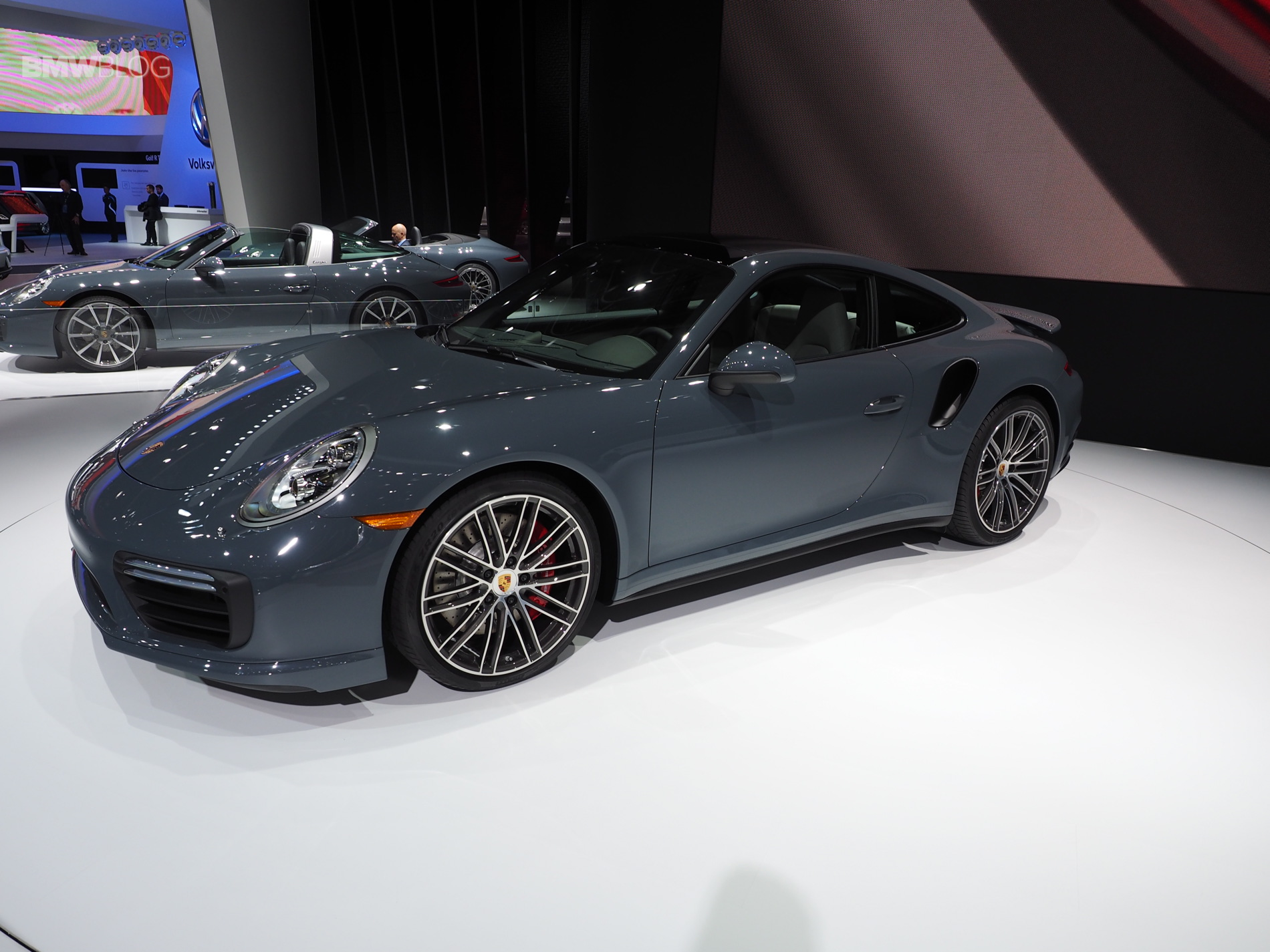 Porsche Unveils New Porsche 911 And 911 Turbo At 2016