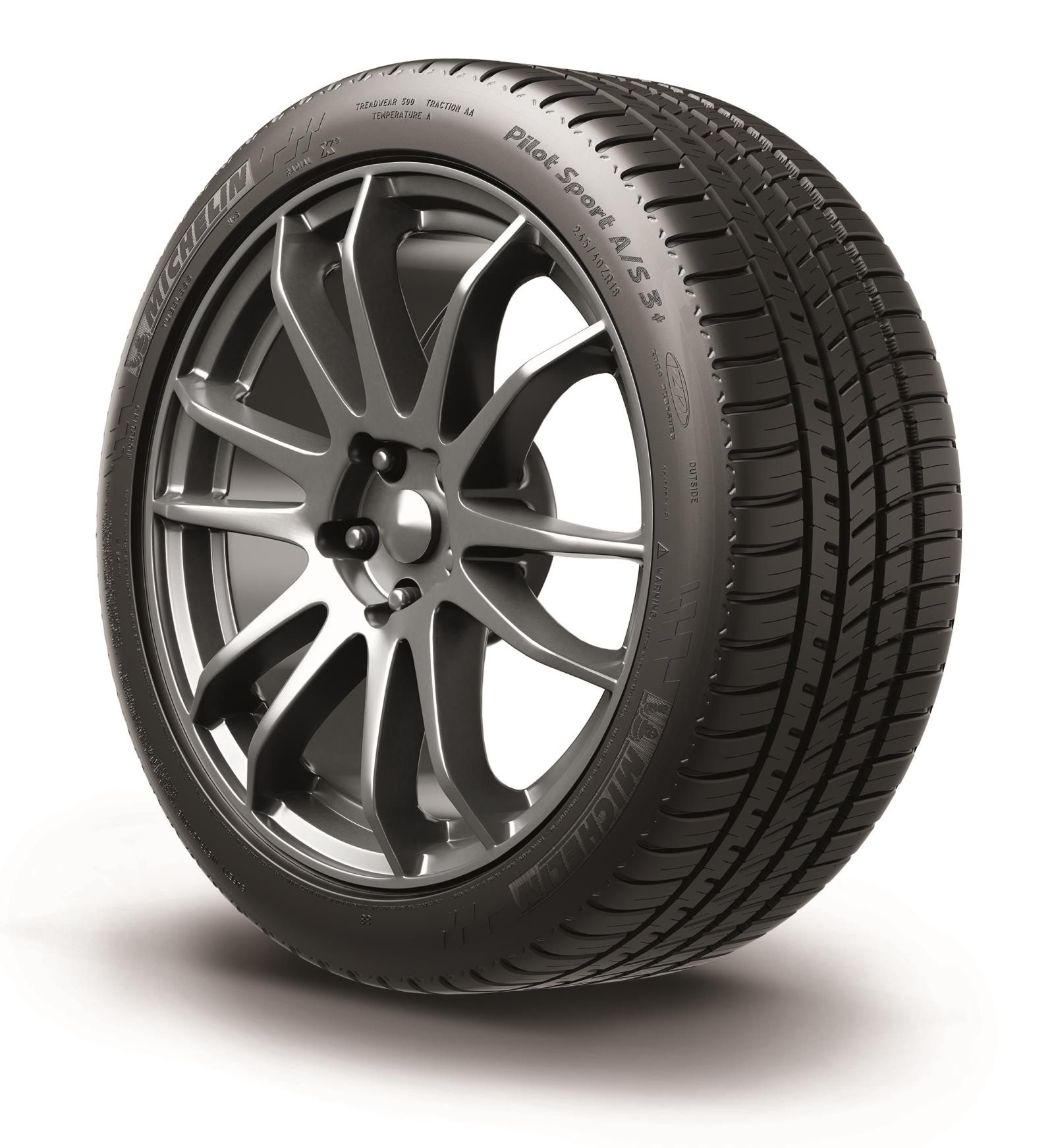 Michelin Unveils New Pilot Sport A/S 3+ At 2016 NAIAS