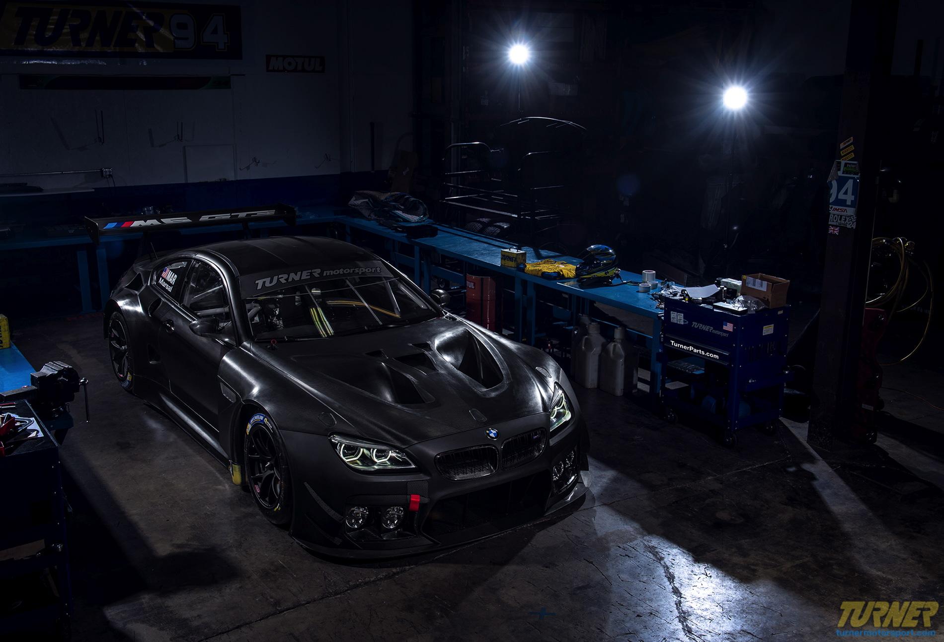 Turner Motorsport in final preparations of their BMW M6 GT3