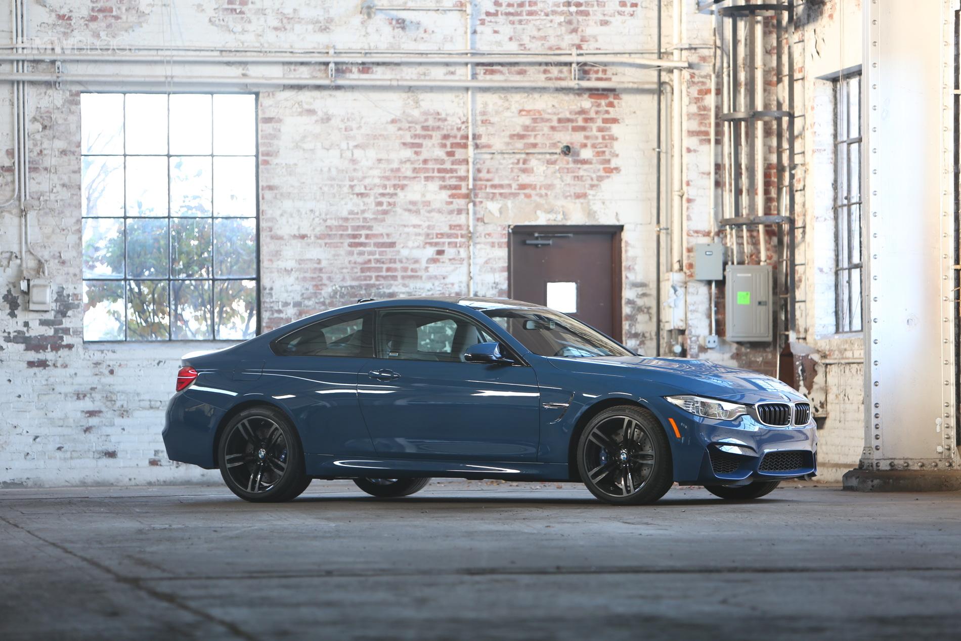 Violet Blue BMW M4 1