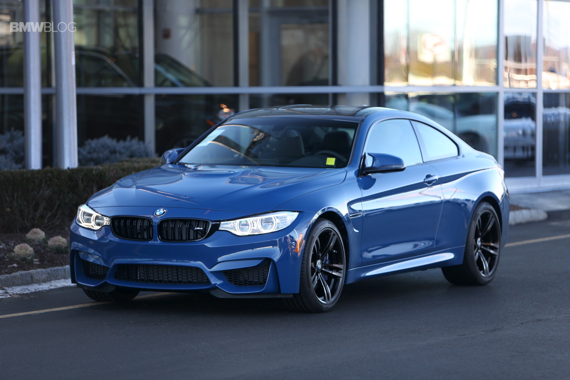 One Of A Kind Violet Blue Bmw M4 Coupe