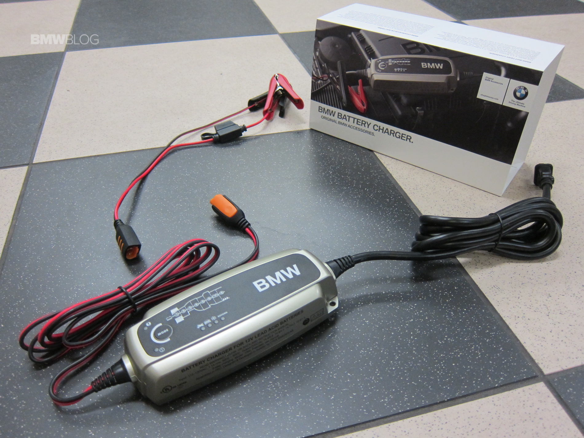How To Use Bmw S New Ctek Battery Charger