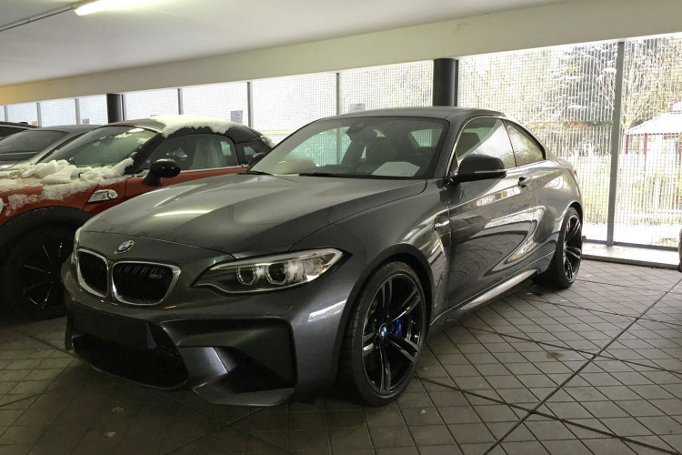 Bmw M2 In Mineral Grey Spotted Again