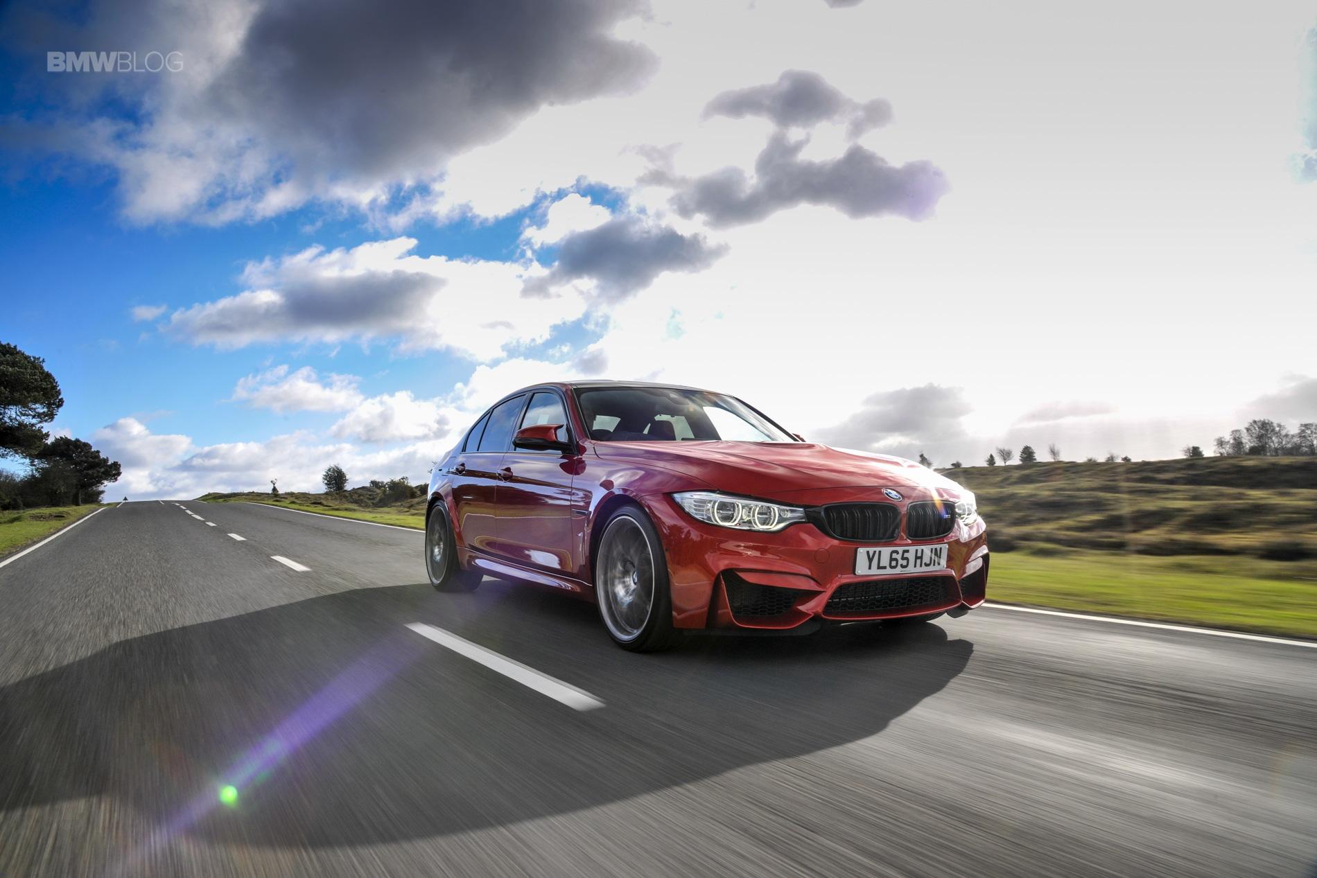 2016 BMW M3 Sedan Sakhir Orange Competition Package 12