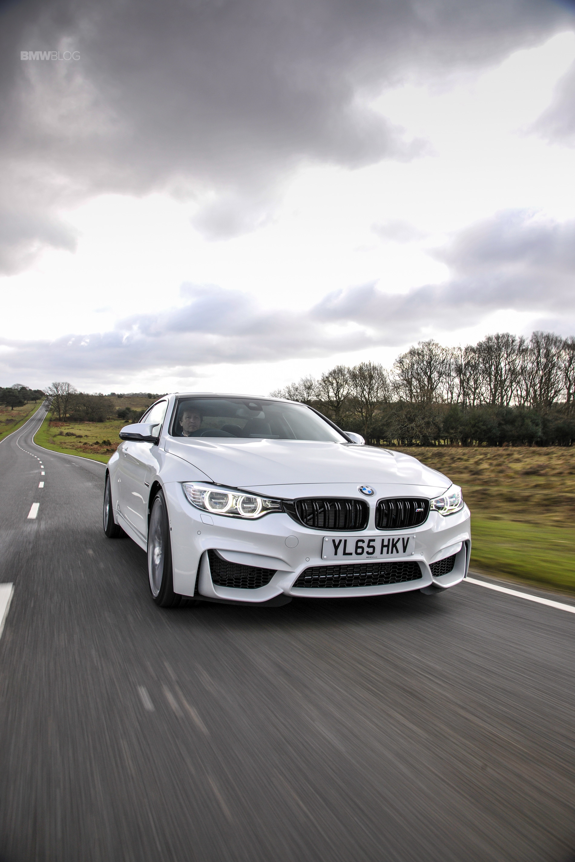 2016 BMW M4 Coupe Alpine White Competition Package 6
