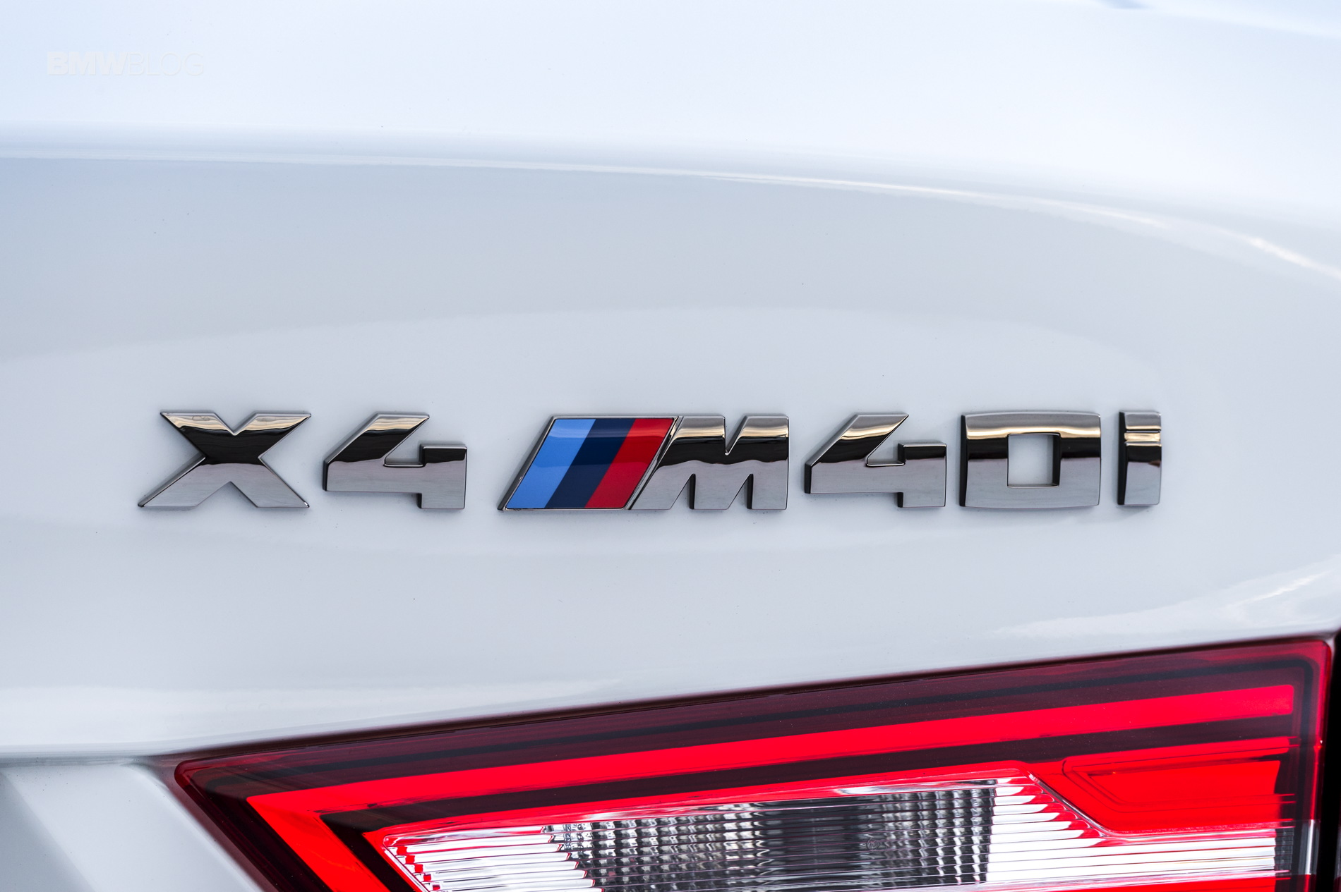 2016 BMW X4 M40i test drive review 109
