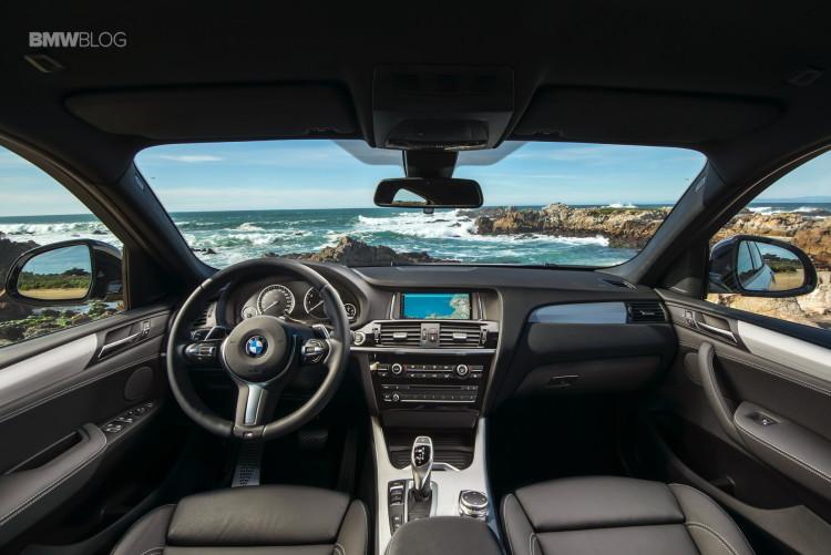 2016 BMW X4 M40i test drive review 13 750x501