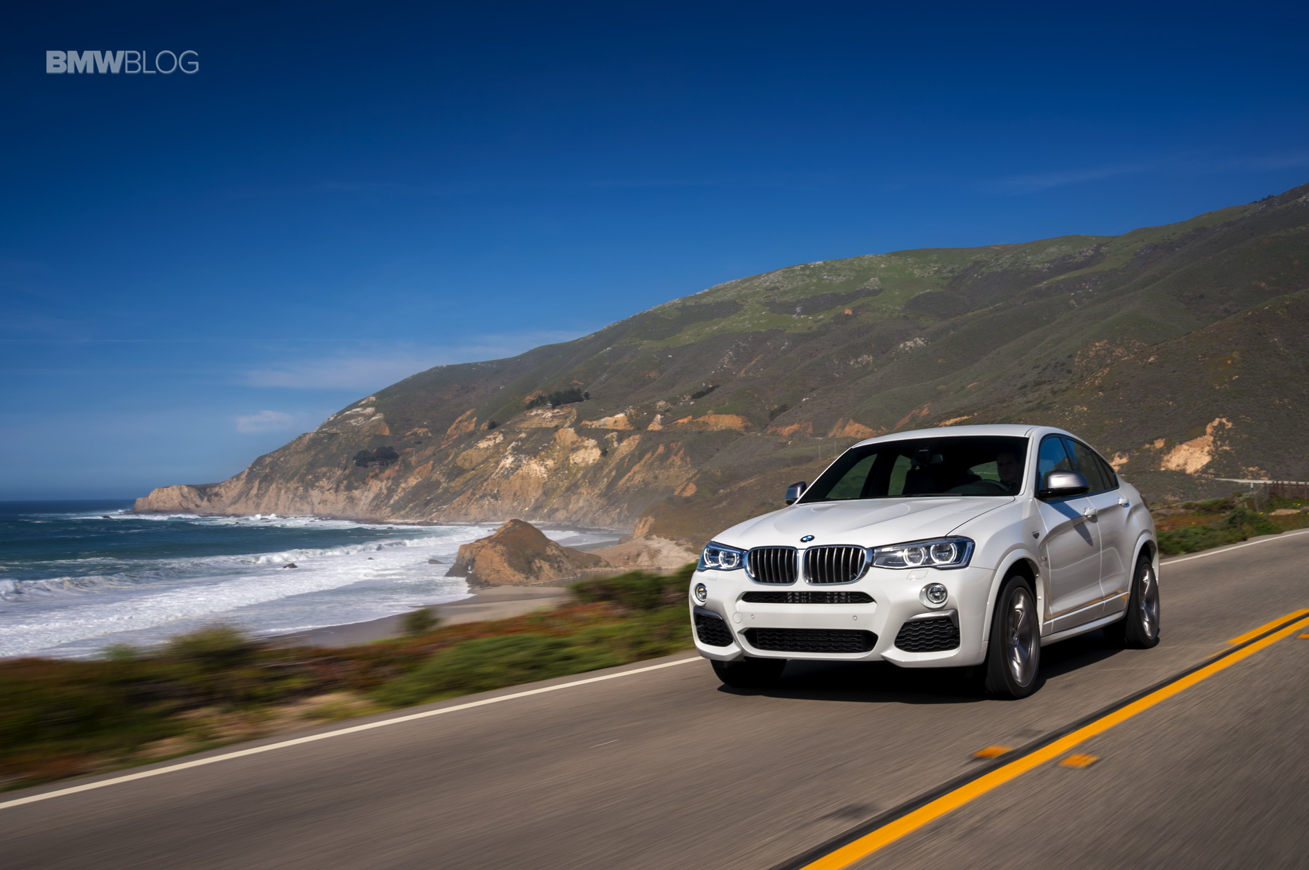 2016 BMW X4 M40i test drive review 29