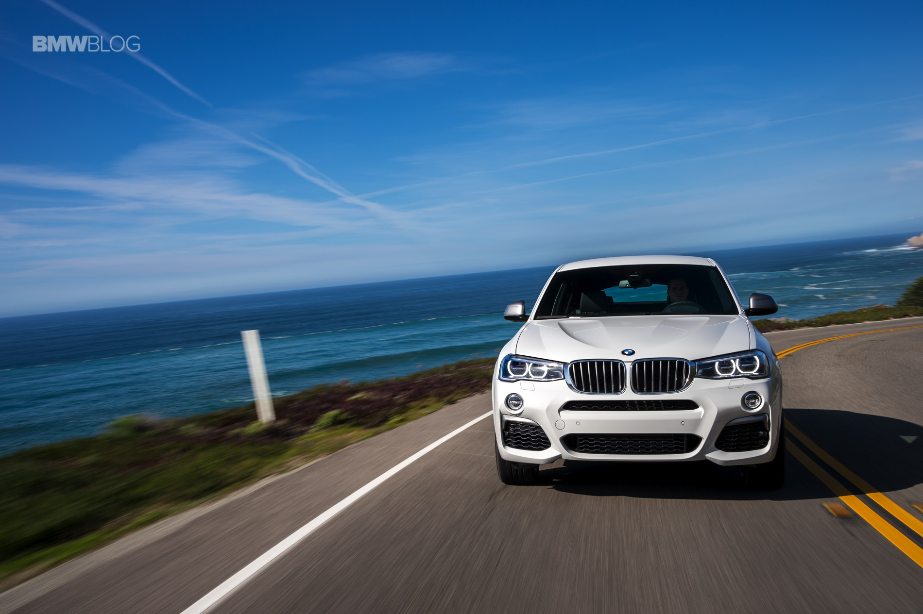 2016 BMW X4 M40i test drive review 31