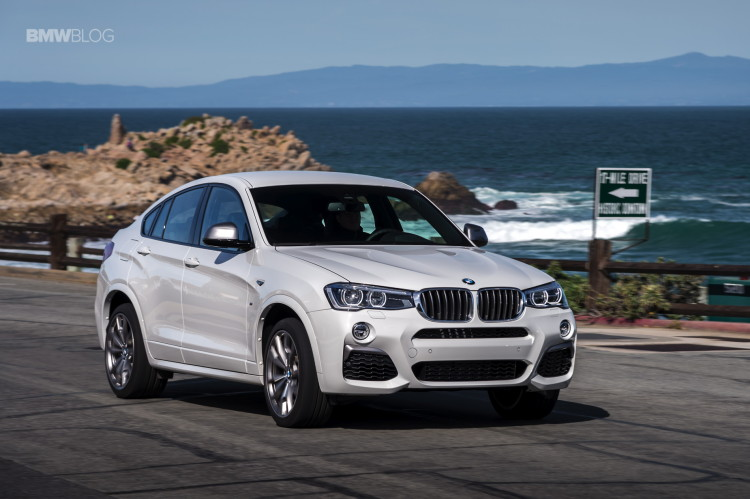 2016 BMW X4 M40i test drive review 67 750x499