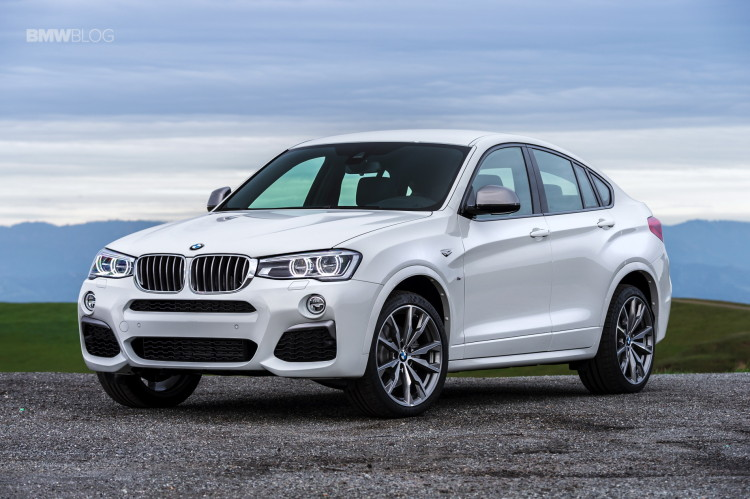 2016 BMW X4 M40i test drive review 95 750x499