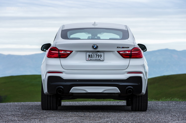 2016 BMW X4 M40i test drive review 98 750x499