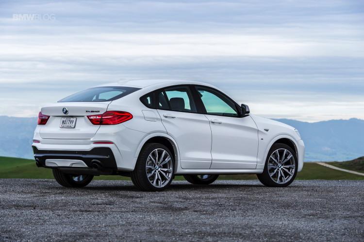 2016 BMW X4 M40i test drive review 99 750x499