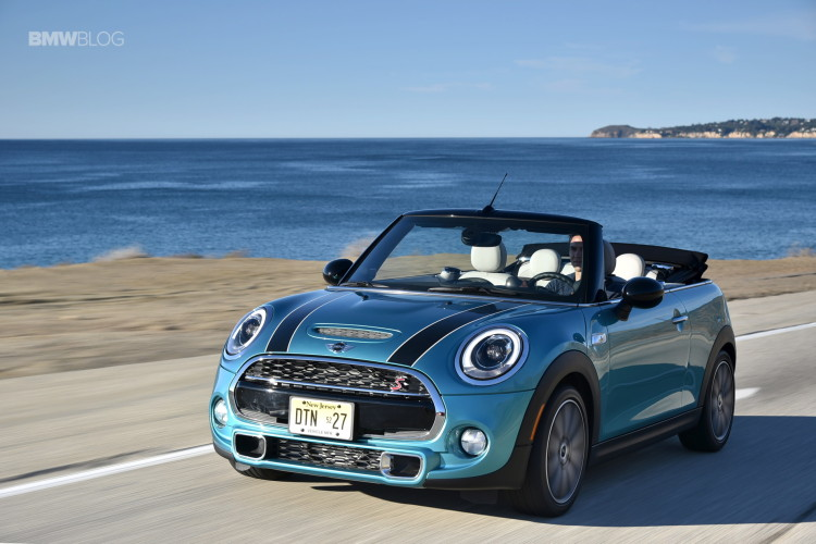 2016 Mini Cooper S Convertible Review Caribbean Aqua 1 750x500