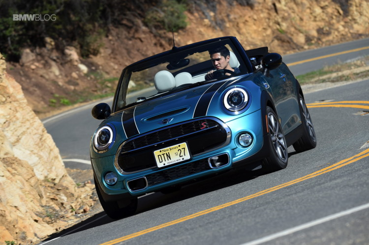 2016 Mini Cooper S Convertible Review Caribbean Aqua