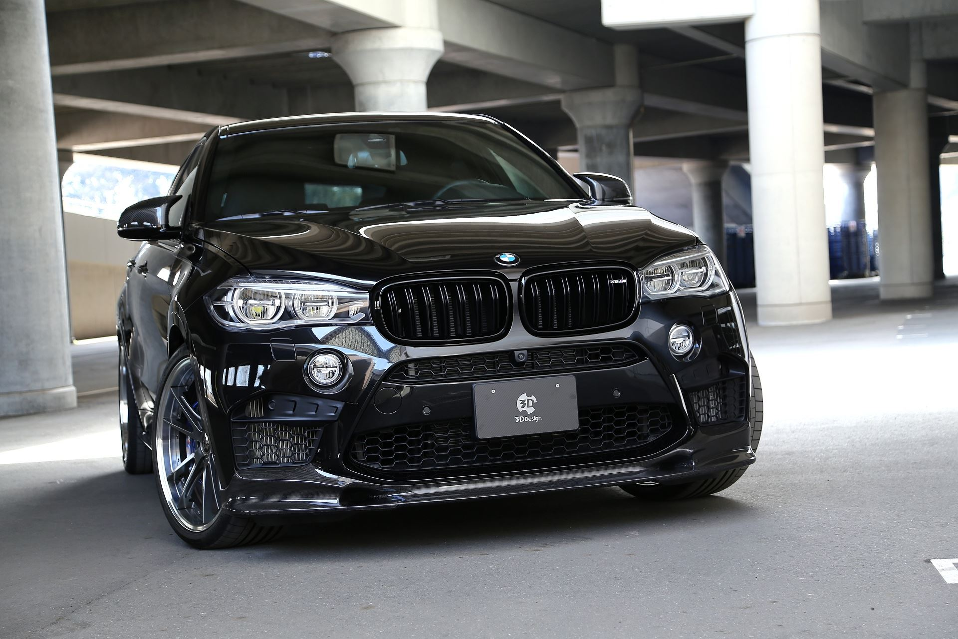 3d Design Unveils A Tuning Program For The Bmw X6 M