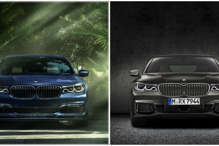Alpina B7 vs BMW M760Li 750x500