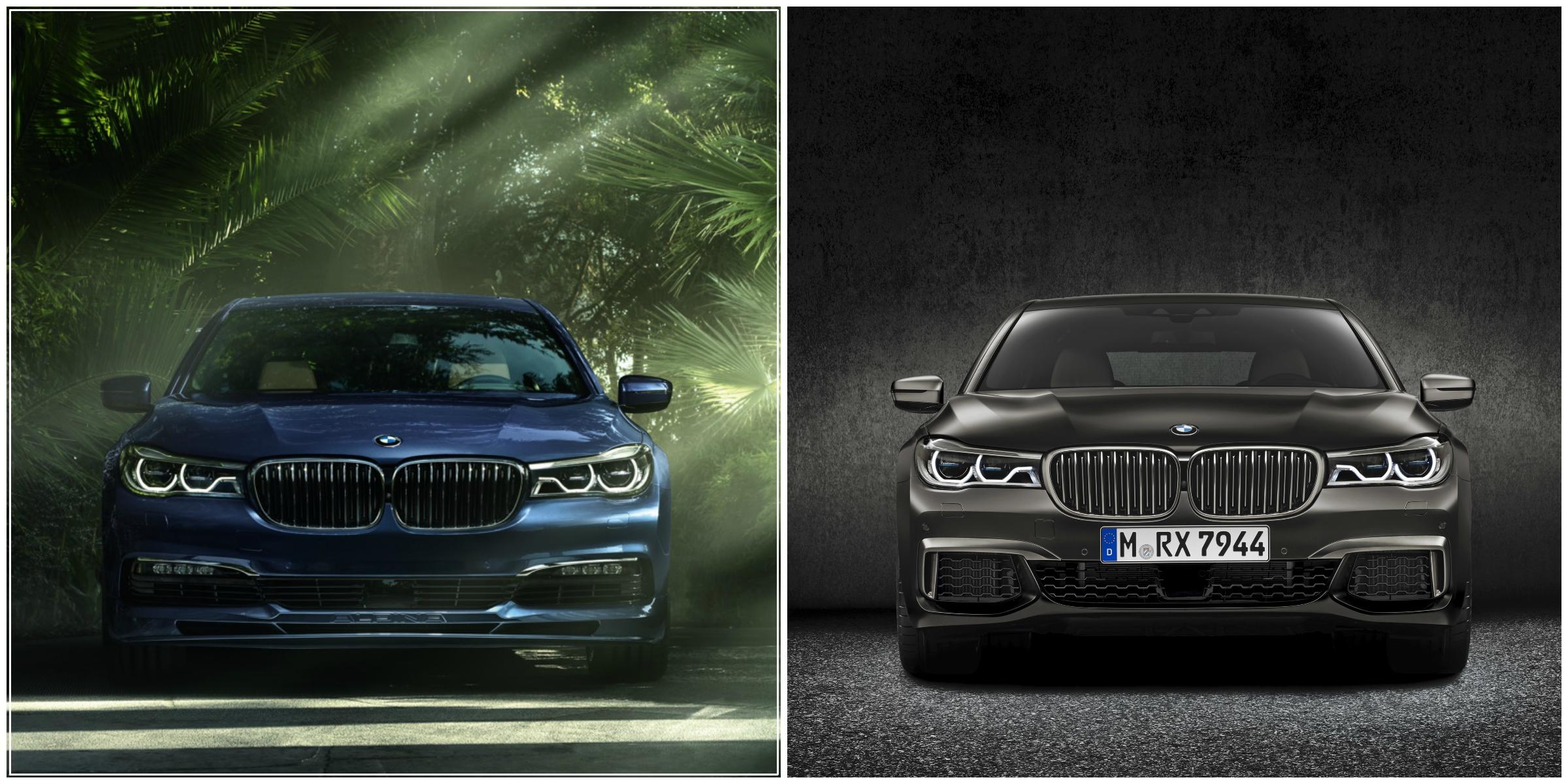 Alpina B7 vs BMW M760Li