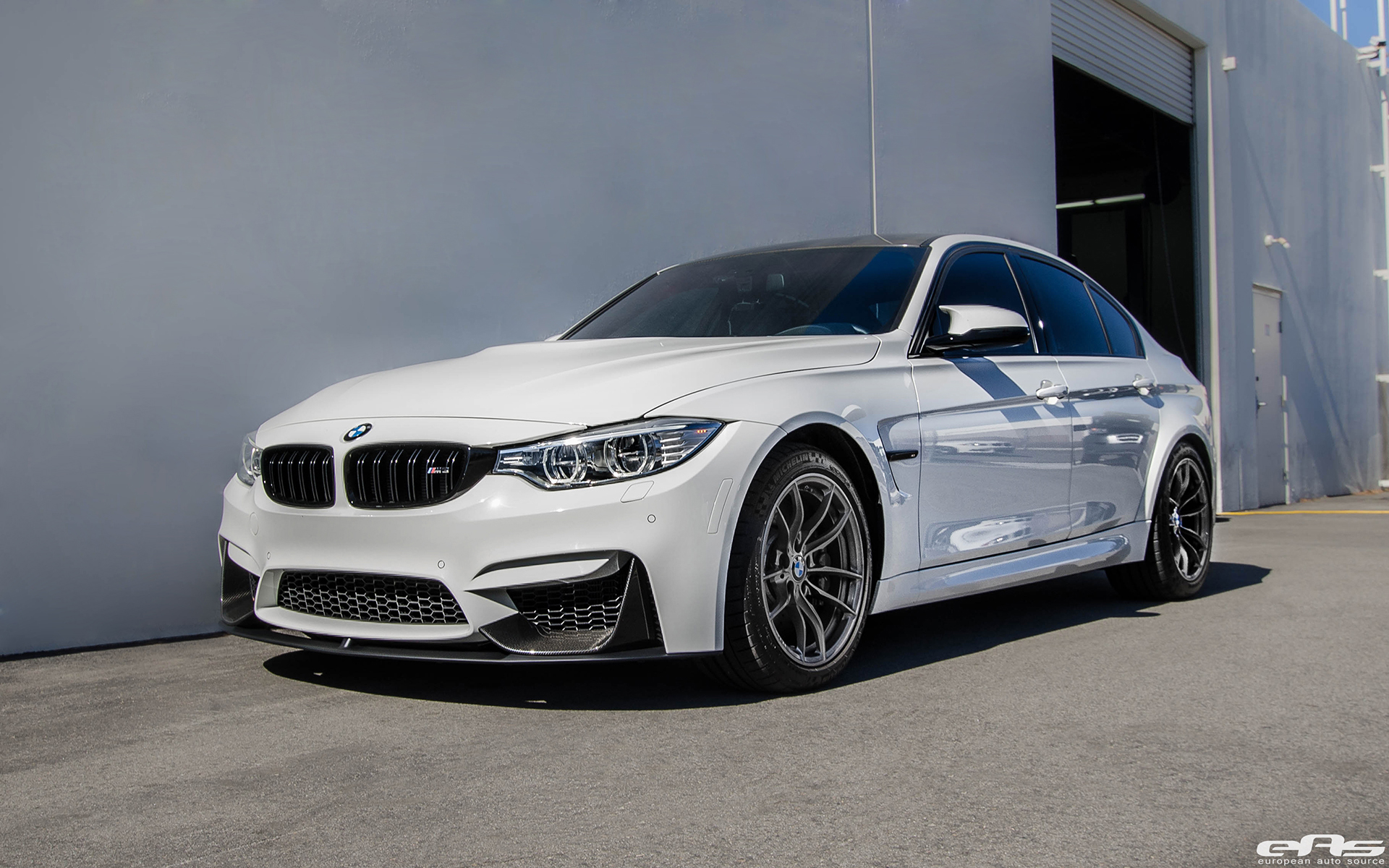 Bmw M2 Series >> Alpine White BMW F80 M3 Gets Visual Mods Added