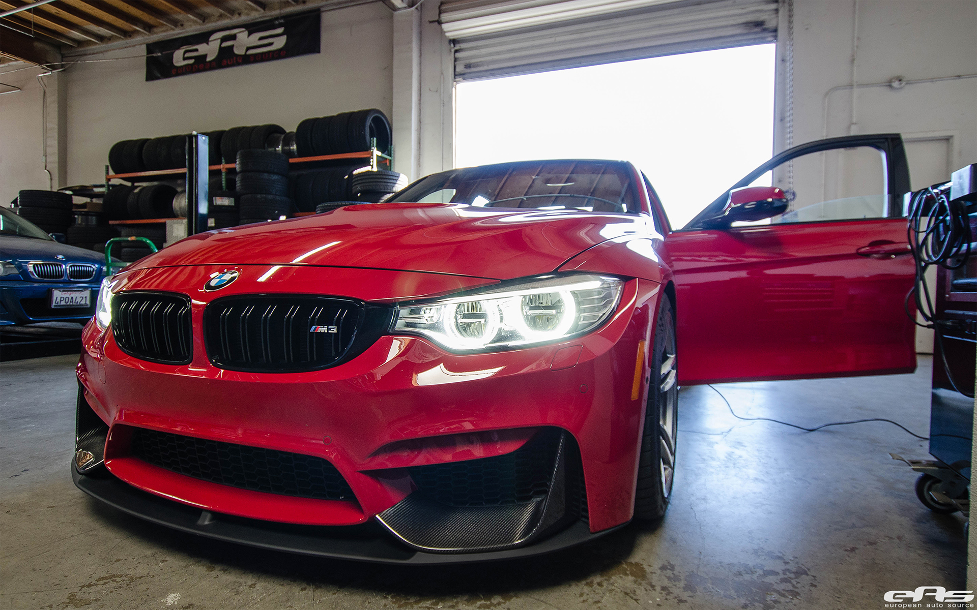 An Imola Red M3 Visited European Auto Source 2