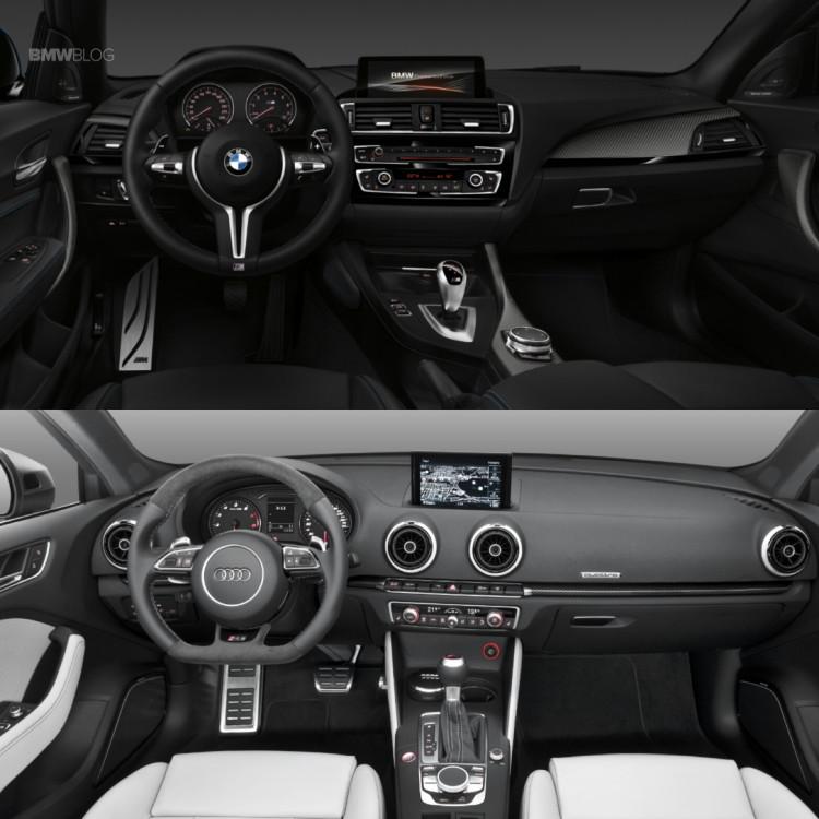 Audi RS3 BMW M2 3 750x750