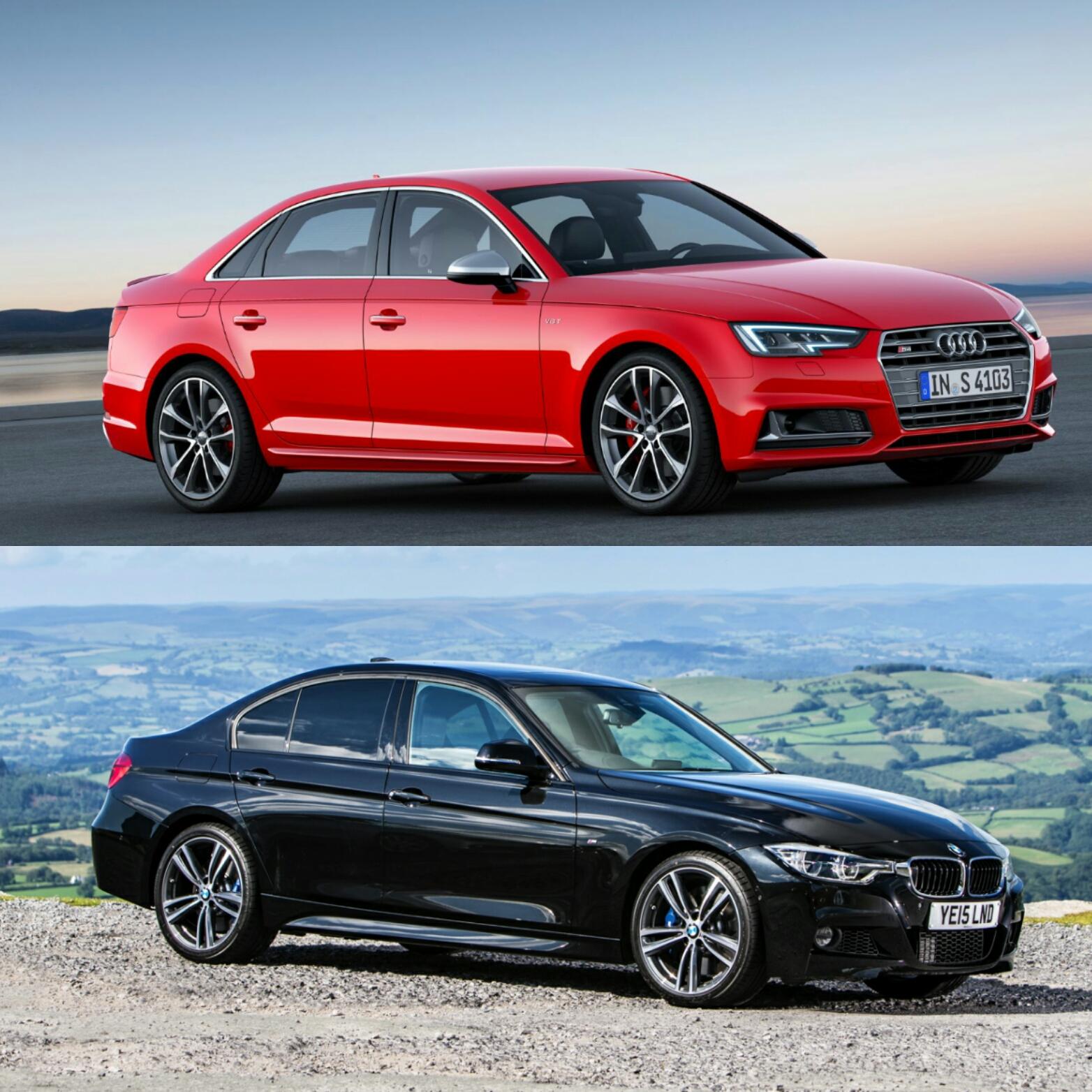 Audi European Delivery >> Photo & Spec Comparison: BMW 340i vs Audi S4