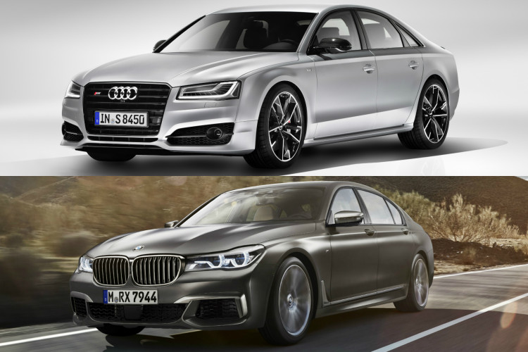 spec comparison audi s8 plus vs bmw m760li xdrive. Black Bedroom Furniture Sets. Home Design Ideas