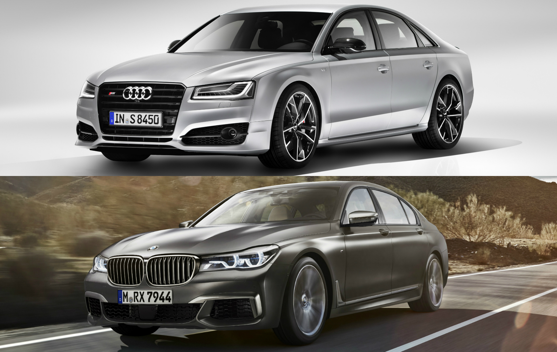 Audi S8 Plus vs BMW M760Li3