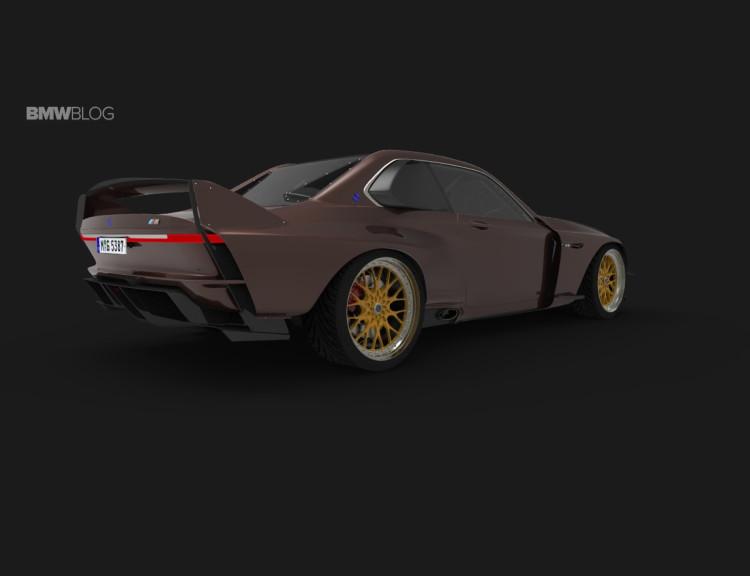 BMW 35 CSL rendering 1 750x576
