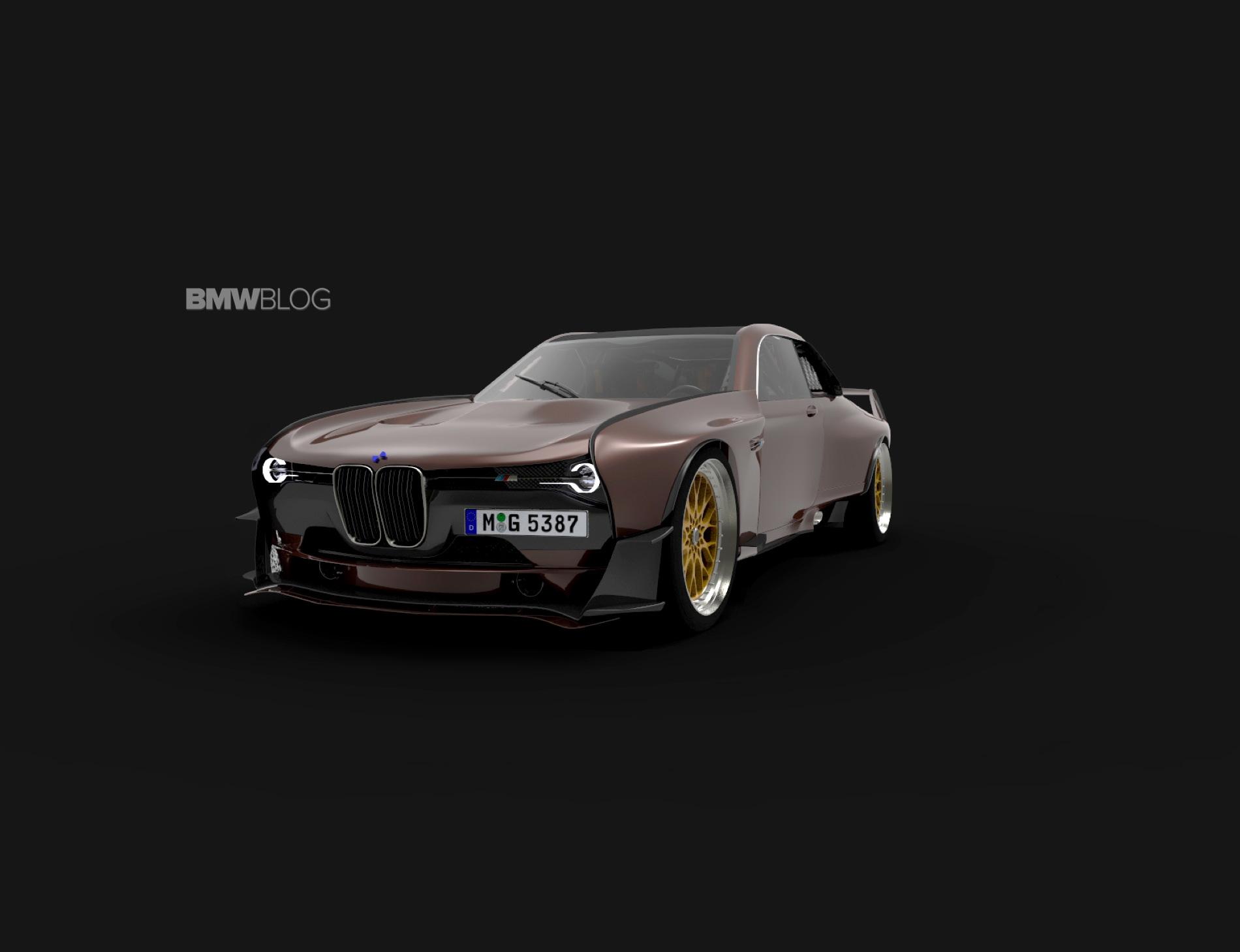 BMW 35 CSL rendering 12