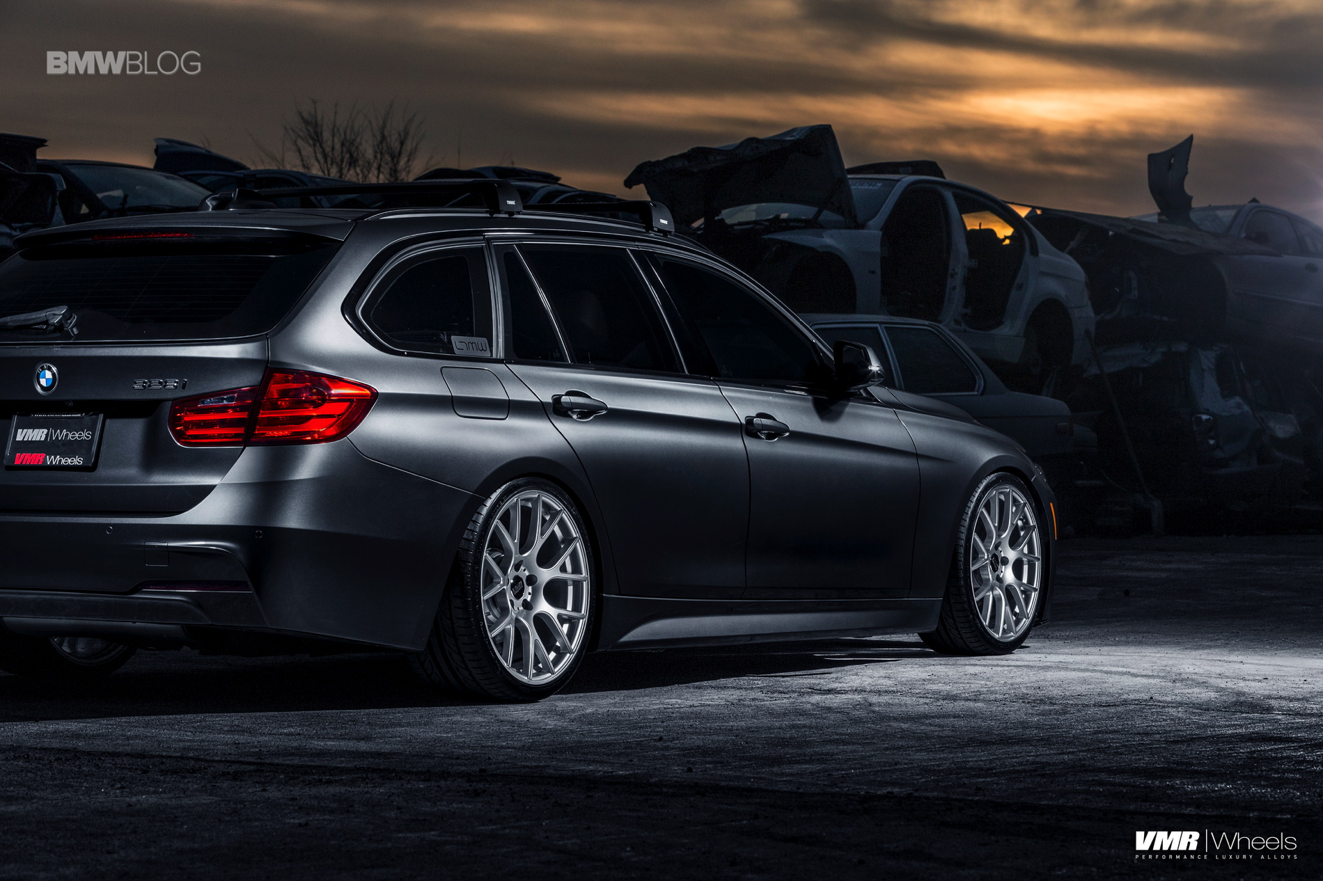 bmw f31 sports wagon gets some visual upgrades and custom. Black Bedroom Furniture Sets. Home Design Ideas